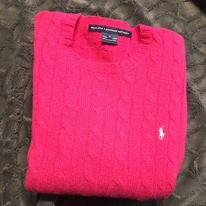Pink Ralph Lauren sweater top